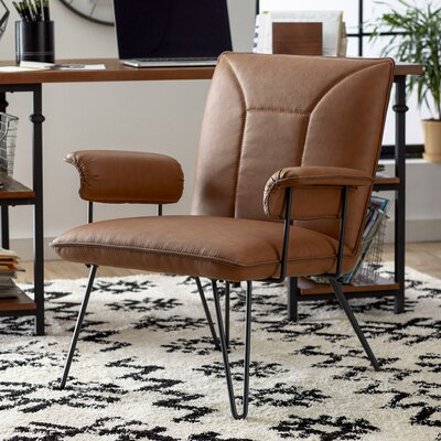 Aphrodite Side Chair Upholstery: Camel