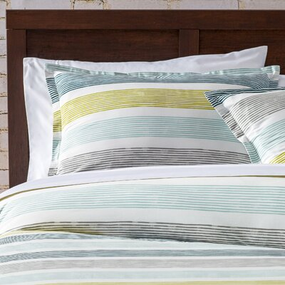 Tiberius Comforter Set Size: Full / Queen, Color: Green