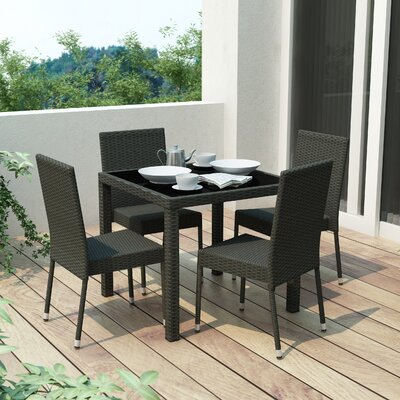 Lira 5 Piece Dining Set