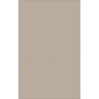 Vargo Hand-Woven Gray Area Rug Rug Size: 5 x 8