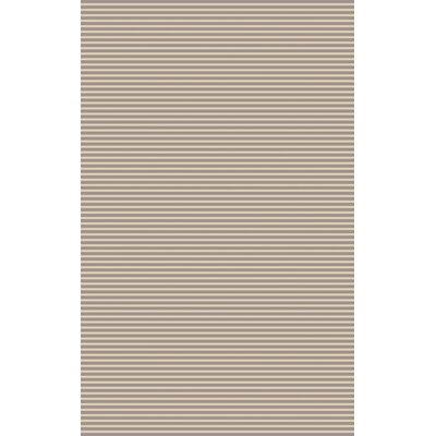 Phoenicis Hand-Woven Gray Area Rug Rug Size: 5 x 8