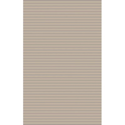 Phoenicis Hand-Woven Gray Area Rug Rug Size: 8 x 11