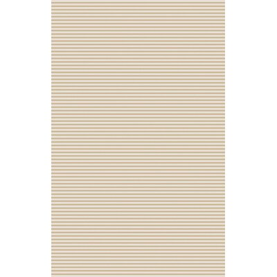 Vargo Hand-Woven Beige Area Rug Rug Size: Rectangle 8 x 11