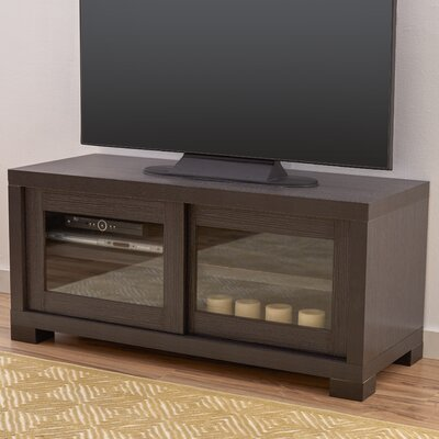 Penzance 47 TV Stand Color: Dark Gray / Charcoal / Woodgrain