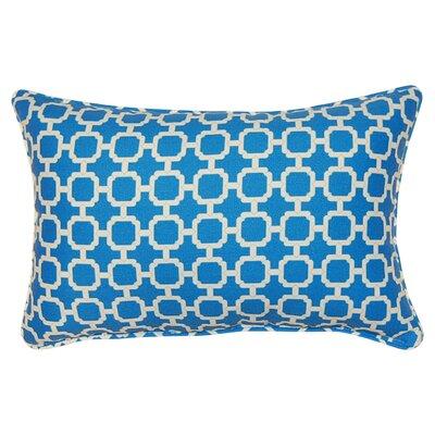 Tessa Corded Lumbar Pillow Color: Nile