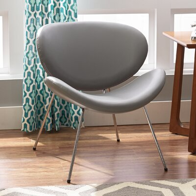 Lounge Chair Upholstery: Grey