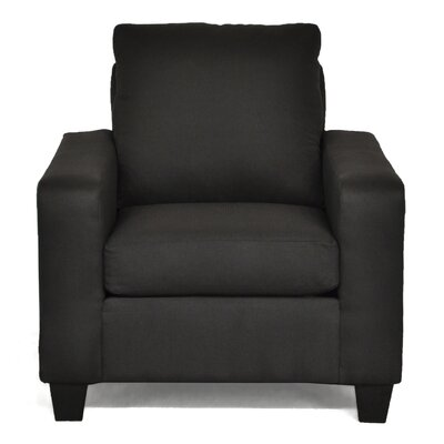 Elene Armchair Color: Stoked Black