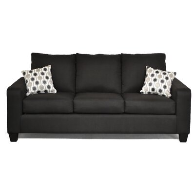 Audrey Sofa Upholstery: Stoked/Sync Black