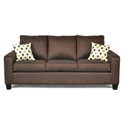 Audrey Sofa Upholstery: Stoked/Sync Chocolate