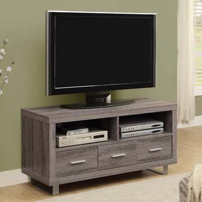 Mestas 48 TV Stand Color: Dark Taupe