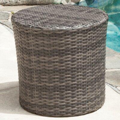 Mazzella Bluestar Barrel Side Table Finish: Grey