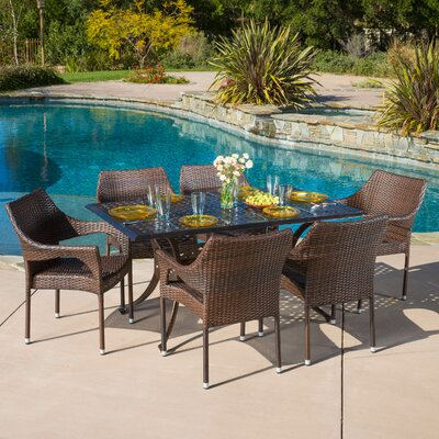 Mealy 7 Piece Dining Set