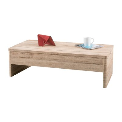 Ager Lift Top Coffee Table Color: San Remo Oak