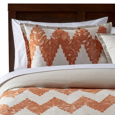 Pantaleon Comforter Set Size: Full / Queen, Color: Copper