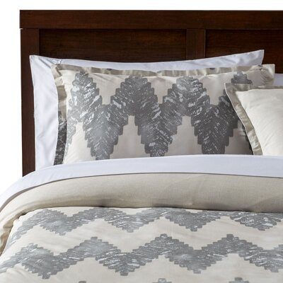 Pantaleon Comforter Set Color: Gray, Size: Full / Queen