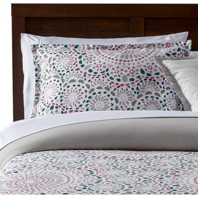 Selena Comforter Set Size: King, Color: Pink
