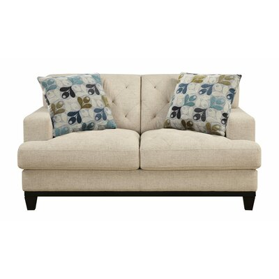 MCRR3419 26743897 MCRR3419 Mercury Row Alcor Loveseat with 2 Pillows