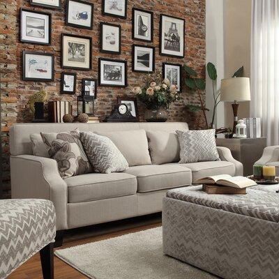 Piscis Sofa Upholstery: Gray