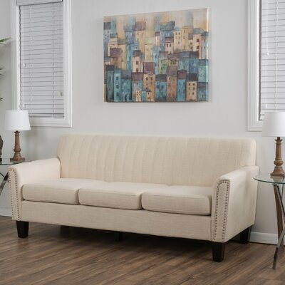 Chaoyichi Fabric Sofa Upholstery: Beige