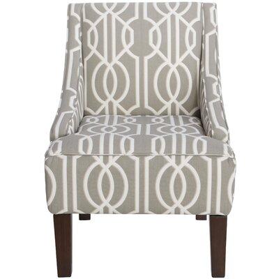 Goldhorn Armchair Upholstery: Deco Slate, Nailhead Detail: No Trim