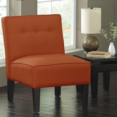Garden Slipper Chair Upholstery: Klein Saffron