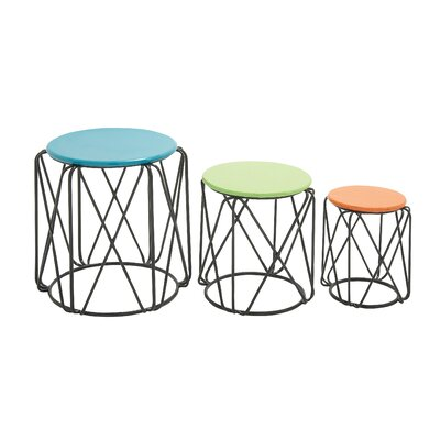 Dametta 3 Piece Nesting Table