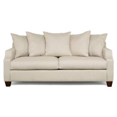 Julia Thalia Sofa Upholstery: Linen