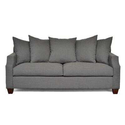 Julia Thalia Sofa Upholstery: Charcoal