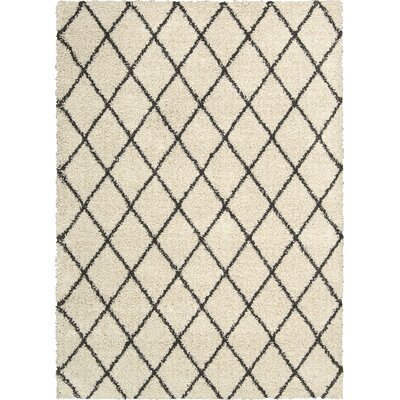 Neptune Ivory Area Rug Rug Size: Rectangle 82 x 10