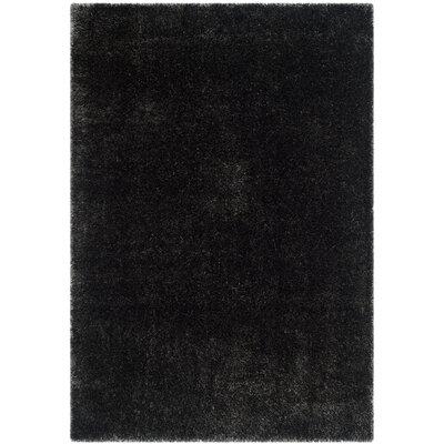 Virgo Charcoal Area Rug Rug Size: Rectangle 51 x 76