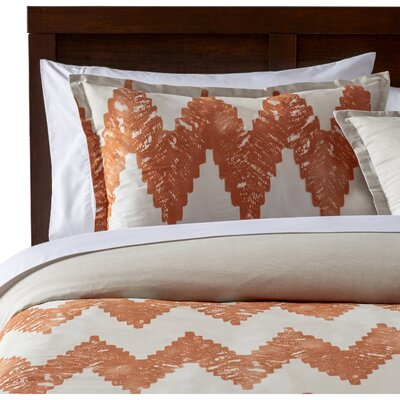Pantaleon Duvet Cover Set Size: Full / Queen, Color: Copper