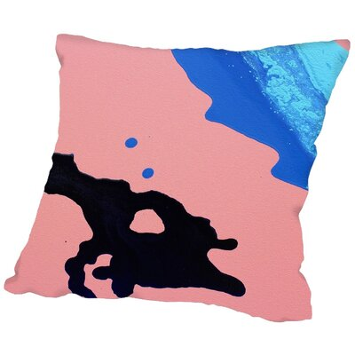 Double Sided Throw Pillow Size: 18 H x 18 W x 2 D