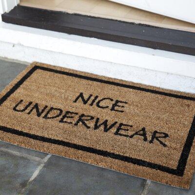 Maximilian Nice Underwear Doormat