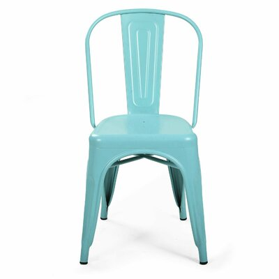 Struble Side Chair Finish: Blue