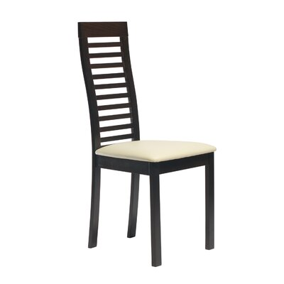 Diogenes Side Chair in Leatherette - Beige