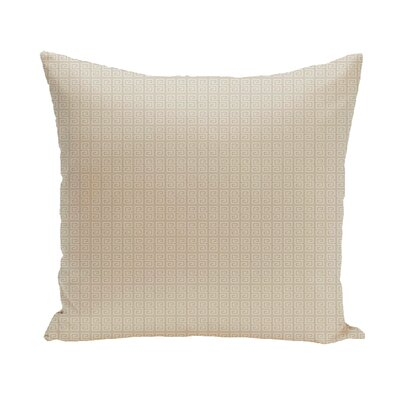 Woodland Throw Pillow Size: 18 H x 18 W, Color: Oatmeal/Flax