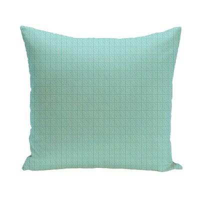Woodland Throw Pillow Size: 26 H x 26 W, Color: Ocean/Jade