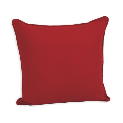 Marquardt Decorative Cotton Throw Pillow Color: Red