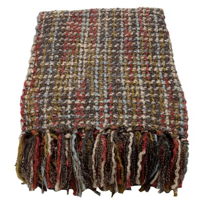 Judith Woven Throw Blanket Color: Deco