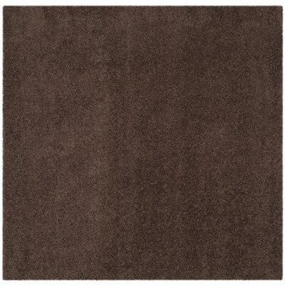 Austral Brown Area Rug Rug Size: Square 67 x 67