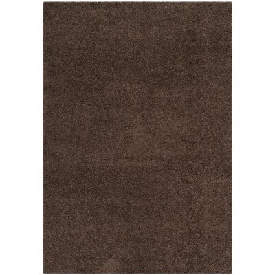 Austral Brown Area Rug Rug Size: 53 x 76