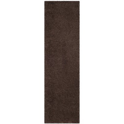 Austral Brown Area Rug Rug Size: Runner 23 x 8