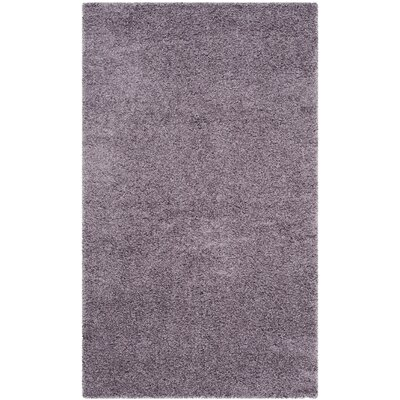 Bluestar Purple Area Rug Rug Size: 3 x 5