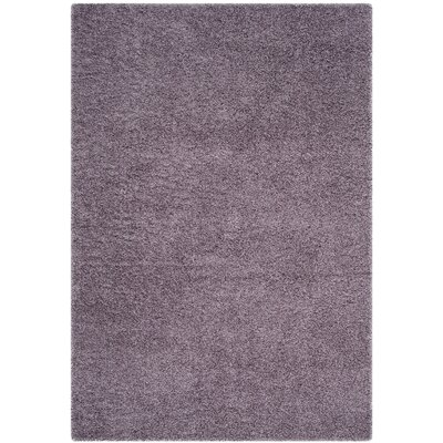 Bluestar Purple Area Rug Rug Size: 53 x 76