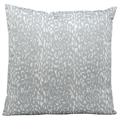 Eustachys Indoor/Outdoor Throw Pillow Color: Grey