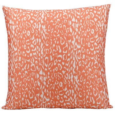 Eustachys Indoor/Outdoor Throw Pillow Color: Orange
