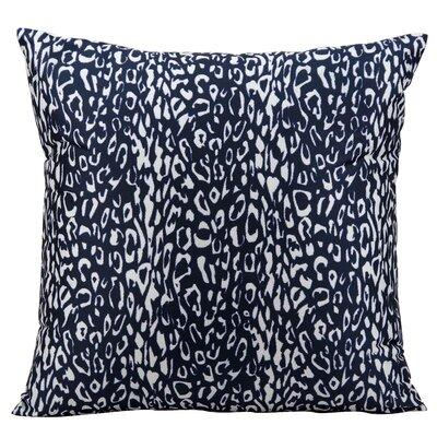 Eustachys Indoor/Outdoor Throw Pillow Color: Navy