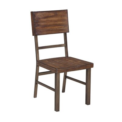 Agamemnon Solid Wood Dining Chair (Set of 2)