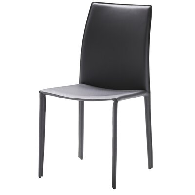 Branco Side Chair (Set of 2) Upholstery: Grey