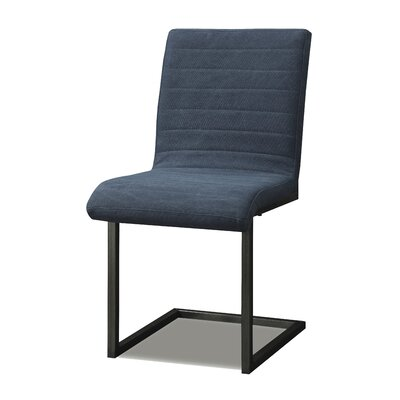Side Chair (Set of 2) Color: Blue